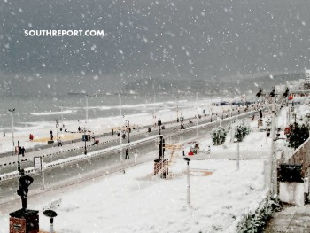 THIS IS HOW VIZAG LOOKS LIKE IF IT SNOWS. JUST AMAZING.!