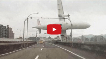 REPORT. Skip to content ENTERTAINMENT NEWS  TRANSASIA FLIGHT CRASHES IN TAIPEI RIVER, TAIWAN.