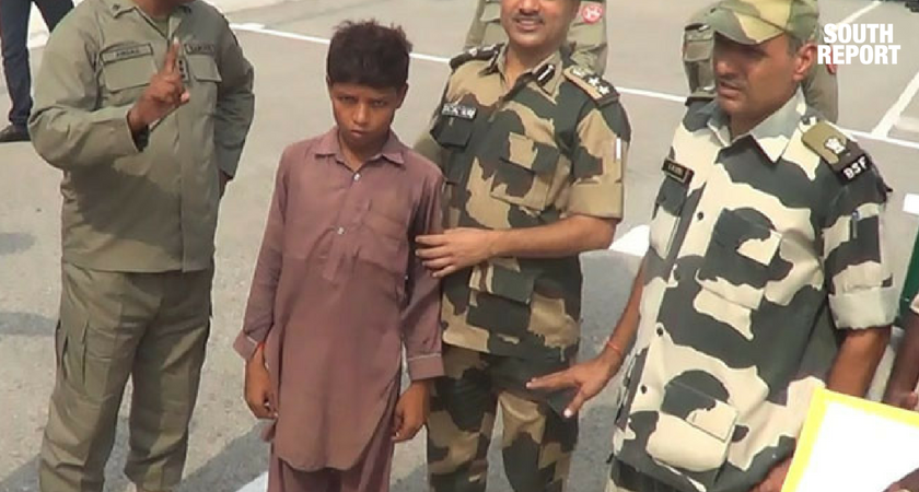 BSF HOSTS A LOST PAKISTAN BOY ALL NIGHT, HANDS HIM OVER TO THEIR PAKISTANI COUNTERPARTS