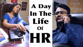A DAY IN THE LIFE OF HR. HILARIOUS VIDEO.!