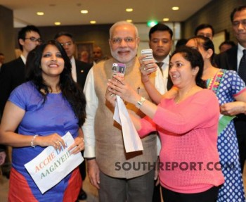 10 PRIME MINISTERIAL SELFIES OF THE TECH SAVVY PM NARENDRA MODI.