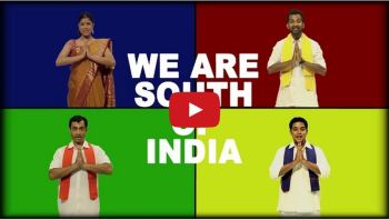 SOUTH INDIA IS NOT ONE STATE. BREAK THE STEREOTYPES.
